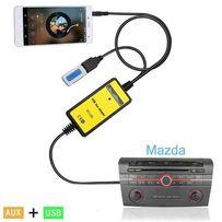 USB AUX MP3 адаптер емулятор CD чейнджера Mazda 3, 5, 6, CX7 RX8 Мазда