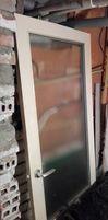 Drzwi wewnętrzne lewe 196*72cm, z demontażu