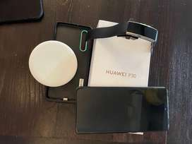 Huawei P30 128GB & Wireless Charger & Watch for sale