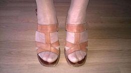 Buty, sandałki damskie 100 % skóra