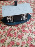 Деревянный дом лодка. Ручная работа из шри ланка
