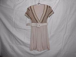 Платье летнее свободное Воздушное Притягивает взгляд Талия низ резинке