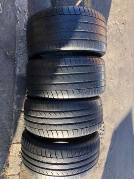 275/40 R20 & 315/35 R20 Dunlop Run Flat Tyres for X5