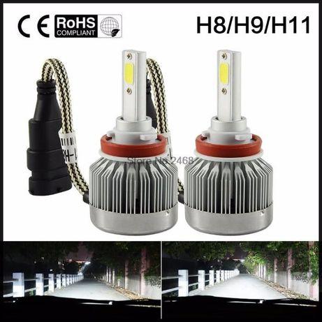 LED лампа H11 H7 H4 H27 880 ПРОТИВОТУМАНКИ ближний свет светодиодные Кривой Рог - изображение 5