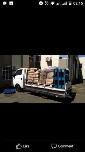 Professional transporter for hire/furniture removals