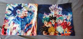 DBZ cushion covers (Ultra instinct Goku and Goku in all forms)