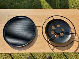 Cadac cast iron reversible griller for sele