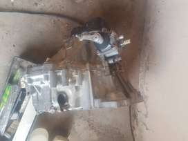 Toyota corolla 2e cyclinder head and 5 speed gearbox