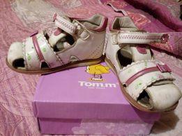 Босоножки Tom.m том.м на девочку белые 22 размер