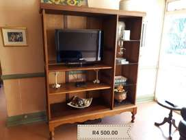 Antique TV Cabinet Only