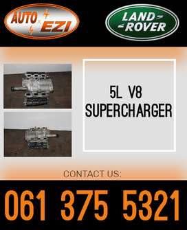 Land Rover and Jaguar used 5l V8 superchargers