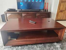 WoodCoffee table from Rochester still in good condition,bought 2018