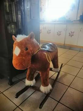 Large rocking horse (Also makes sound)