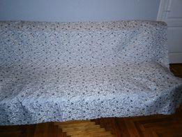 Покрывало серое с серебристой вышивкой на двуспальную кровать