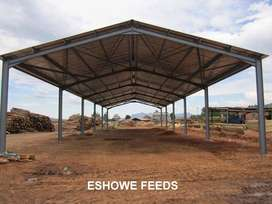COMPLETE STEEL STRUCTURES FOR SALE