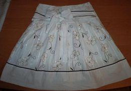 Красивая юбка на девочку 146р