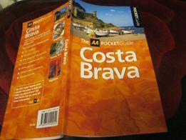 costa brava Коста-Брава испания атлас книга на английском справочник