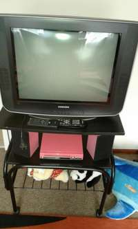 Image of Complete set Tv. dvd. stand.