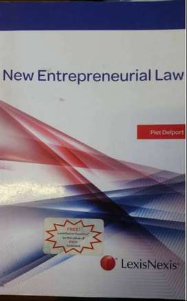 New Entrepreneurial Law Textbook