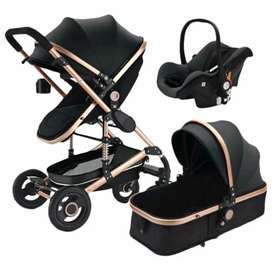 Black and gold belecoo 3in1