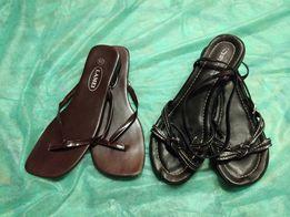 Buty i klapki typu japonki - rozmiar 38