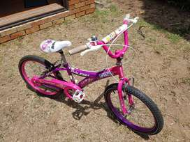 Girls 20 inch bicycle for sale