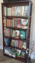 Деревянный стеллаж, полка для книг, сосна, этажерка