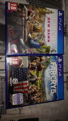 Far Cry 5 and Far Cry New Dawn PS4