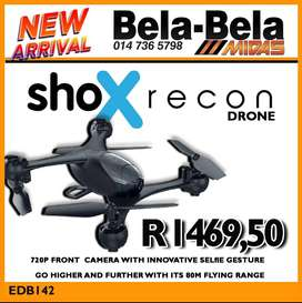 NEW arrival at Midas Bela Bela! Shox Recon Drone ONLY R1469.50!
