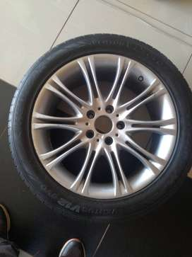 BMW 18 inch mag and tyre