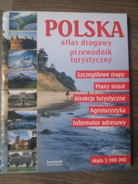 Polska Atlas drogowy, przewodnik turystyczny skala 1:300000