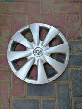Toyota corolla professional steel rims and wheelcaps