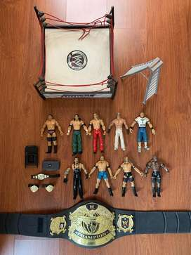 WWE action figures and accessories