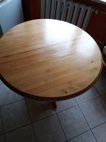 Stół okrągły 800zl + 6 krzeseł 500zl