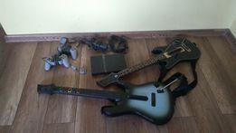 Ps2 gitary, 2 pady ps 2