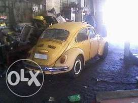 vw beetle stripping