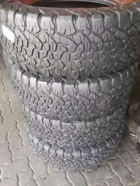 4×275/65/17 BF Goodrich KO2 tyres for sale