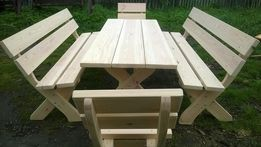 Meble ogrodowe duże stół 2m deska 4cm solidne