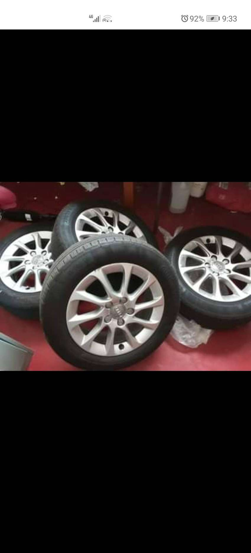 Audi mags and tyres