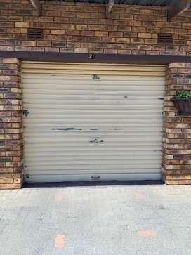 Garage door, can be painted to any colour of choice
