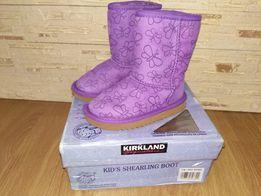 Натуральные угги для девочки Kirkland, 29 евро размер