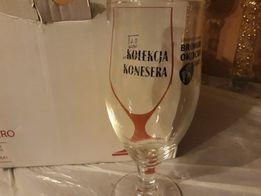 Kolekcja konesera, szkło, pokal do piwa, 0,4l, 6 sztuk
