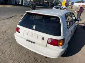 TOYOTA TAZZ FOR  SALE AS IS ORAVAILABLE FOR STRIPPING FOR SPARES