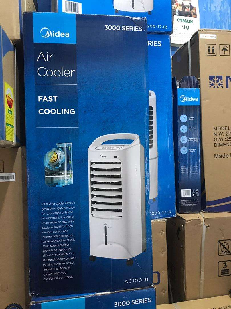NEW IN BOX-MIDEA 3000 SERIES AIR COOLER,FAST COOLER- 0