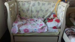 Кроватка диван, качается