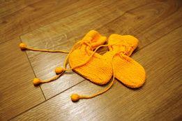 83. DZIECI skarpetki dla niemowlaka, ciepłe!!! ręcznie robione wełna