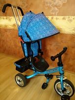 Детский трехколесный велосипед-коляска Super Trike VT1417