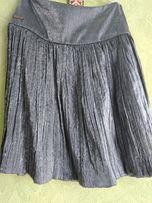 нарядная юбка с серебристым отливом