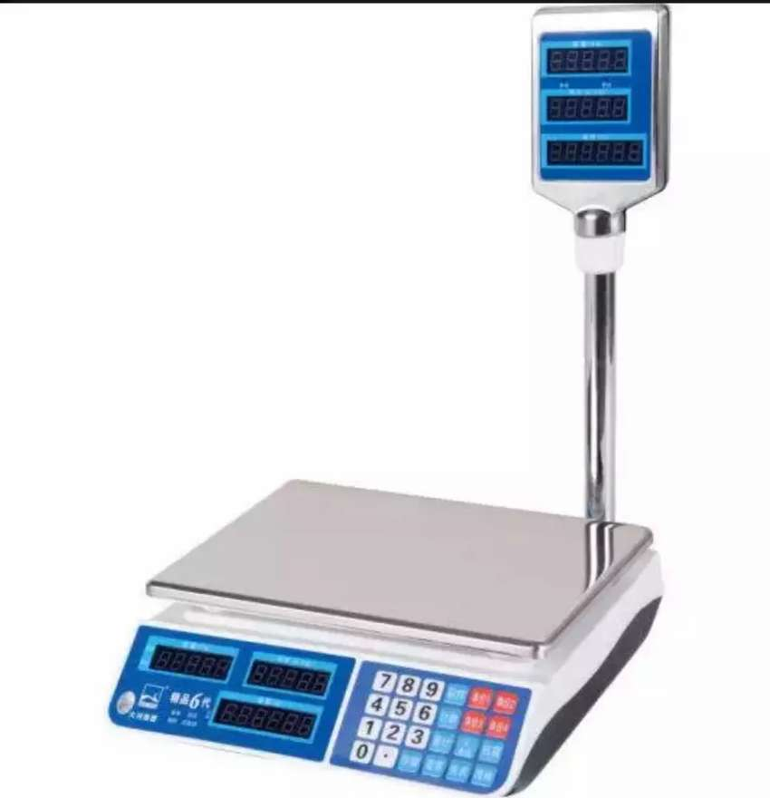 New table weighing scales 0