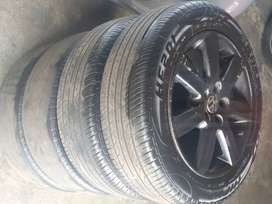 Polo 6 15 inch rims and tires for sale